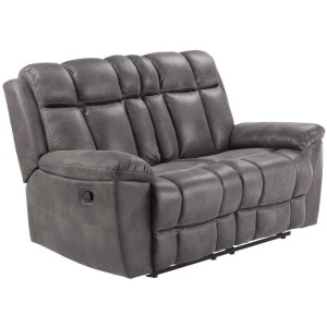 Goliath - Arizona Grey Manual Reclining Loveseat