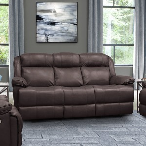 Eclipse Florence Brown Power Sofa