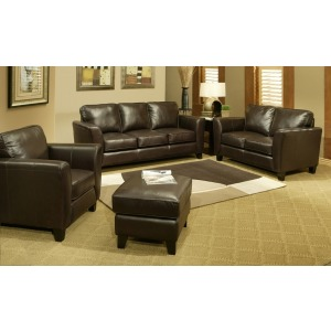Catalina Leather Loveseat