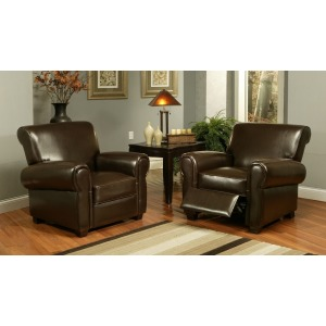 Jackson Pushback Leather Chair