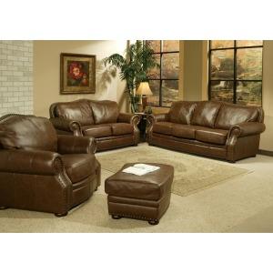 Sequoia Leather Loveseat