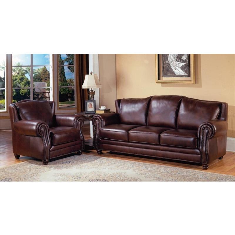 Prestige Dover Leather Sofa