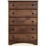 5 Drawer Chest - Aspen Oak