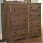 7 Drawer Chest - Aspen Oak