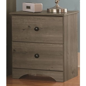 "21"" Nightstand - Weathered Gray Ash"