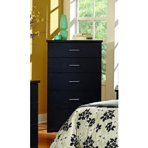 5 Drawer Chest - Silhouette