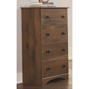 4 Drawer Chest - Aspen Oak