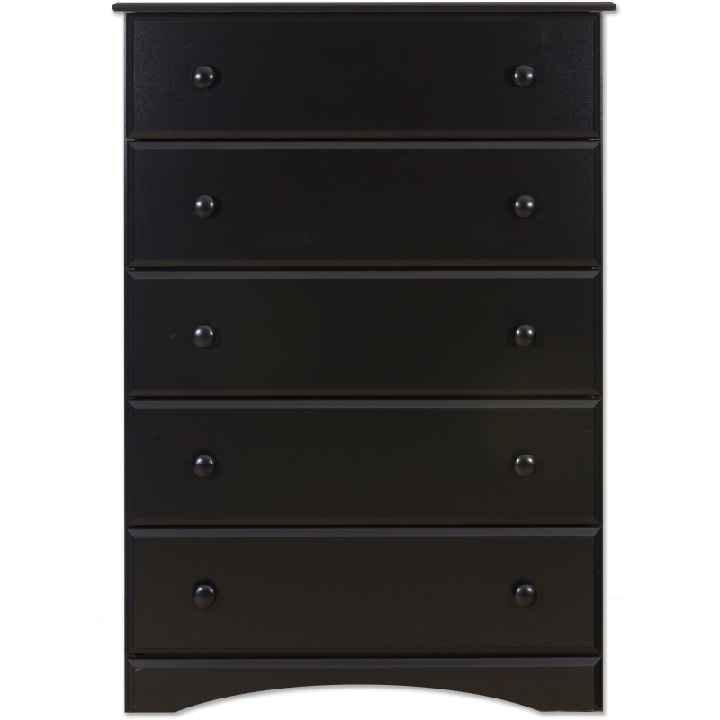 Solid Black Big Chester Chest