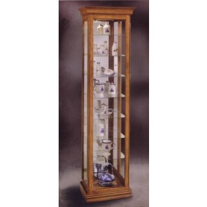 Encore Ii Eight-shelf Curio Cabinet