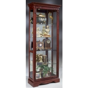Andante Two-way Sliding Door Curio Cabinet