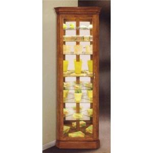 Octave Corner Curio Cabinet