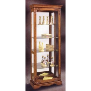 Andante Ii Two-way Sliding Door Curio Cabinet