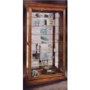 Manifestation Eight-shelf Two-way Sliding Door Collectors Curio Cabinet