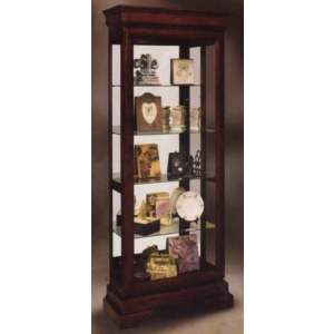 Avignon Two-way Sliding Door Curio Cabinet