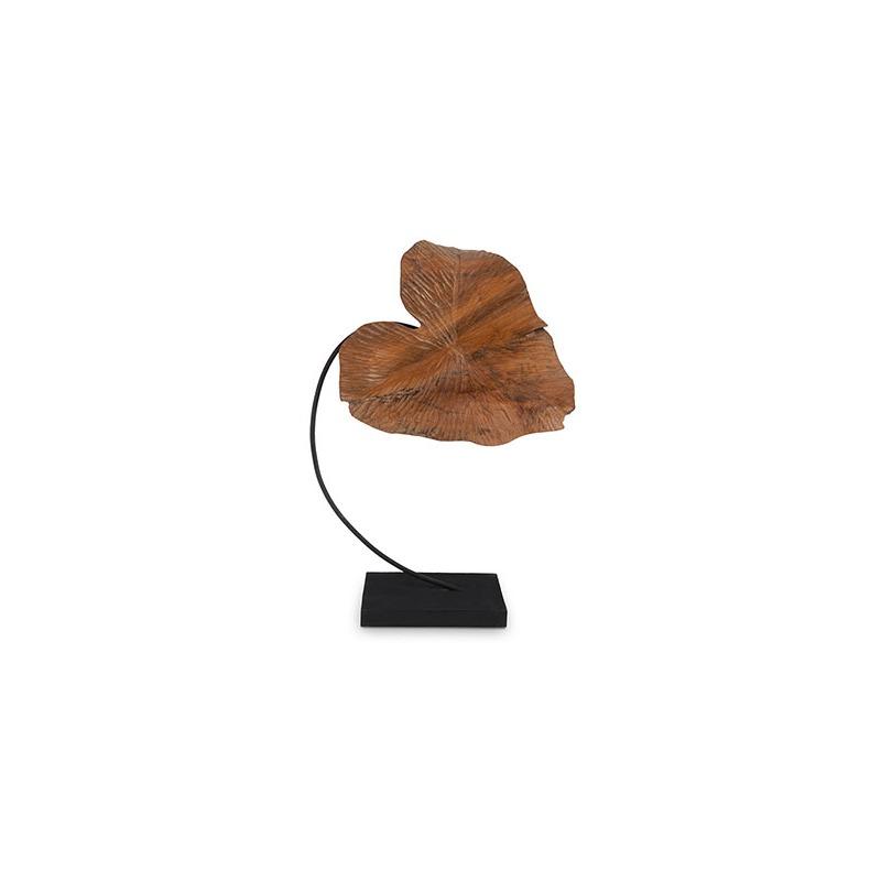 Carved Leaf Sculpture SM