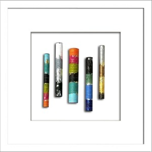 Cylindrical I - Multicolor