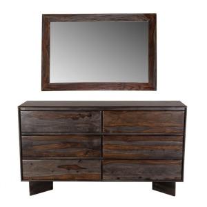 Cambria Midnight Dresser & Mirror