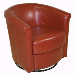 Marvel Swivel Chair - Orange
