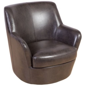 Hayes Brown Swivel Chair