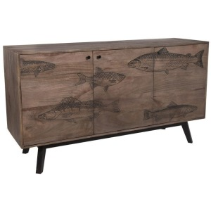 Fish Gray Sideboard