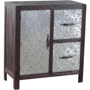 Braddock 2 Dwr, 1 Door Cabinet