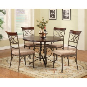 5-Pc. Hamilton Dining Set – 1 697-413 Dining Table & 4 697-434 Side Chairs
