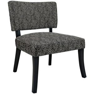 Black Firework Armless Chair