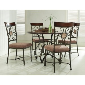 5-Pc. Whitman Dining Set – 1 236-413 Table & 4 236-434 Side Chairs