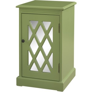 Olive Mirror Chippendale Table