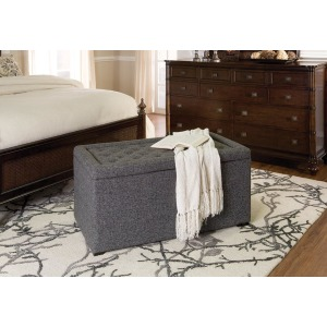 -Elmington Lift Top Ottoman- 3 Piece