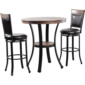 Franklin Pub Table 3 Piece