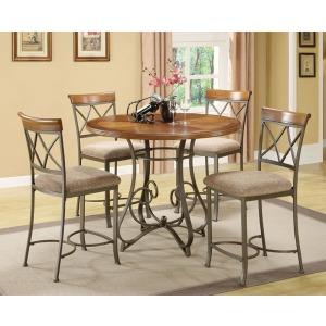 5-Pc. Hamilton Gathering Set – 1 697-441 Gathering Table & 4 697-430 Counter Stools