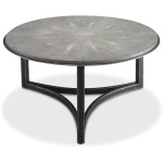 Niko Cocktail Table - Shagreen