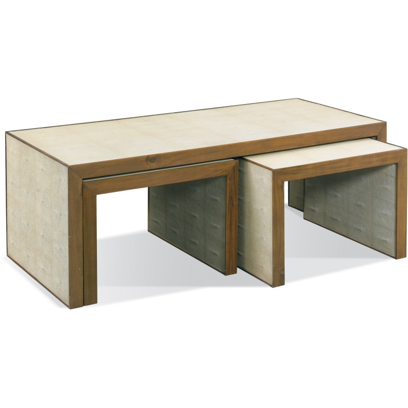 Zaine 3 Piece Nesting Cocktail Table