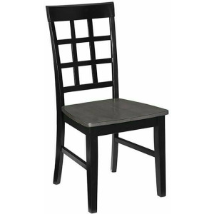 Salem Dining Chair - Gray/Black