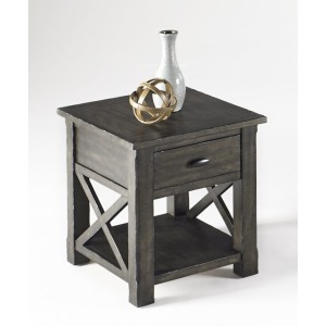 Crossroads Rectangular End Table