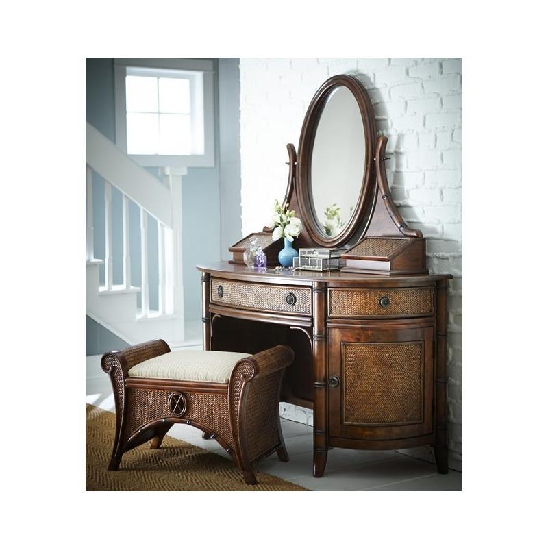 Bamboo Vanity Bench/Mirror