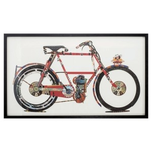 Paper Collage Bicycle