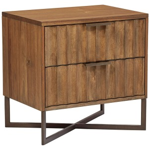 Club Projects Modern Nightstand - Brown