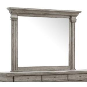 Madison Ridge Framed Dresser Mirror in Heritage Taupe