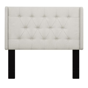 Upholstered Full/Queen Headboard - Linen