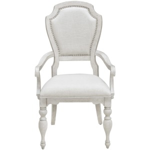 Glendale Estates Upholstered Dining Arm Chair