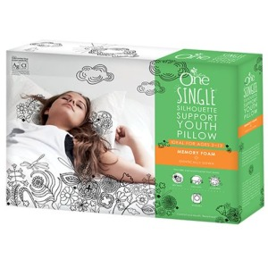 PureCare One Single Silhouette Support Youth Pillow