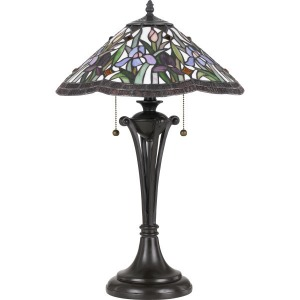 White Valley Table Lamp
