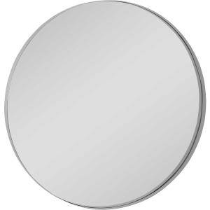 Padria Nickel Round Mirror