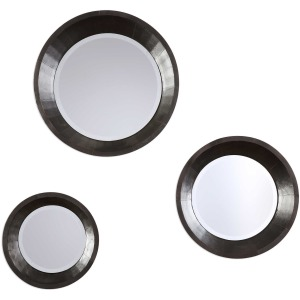 Majida Round Mirrors S/3