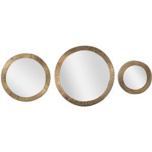 Novara Round Mirrors - Set of 3