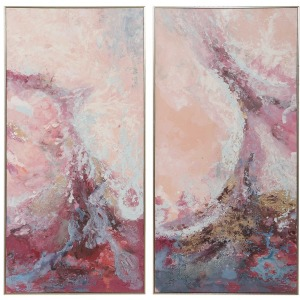 Berry Splash Hand Painted Canvas
