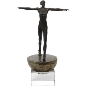 Woman Finding Balance Sculpture