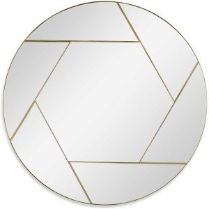 Kaleidoscope Round Mirror